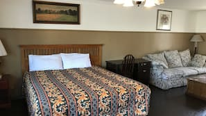 1 bedroom, premium bedding, down comforters, individually furnished