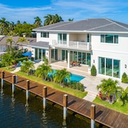 $8 Million Waterfront Residence With Private Dock Pool Built in 2019
