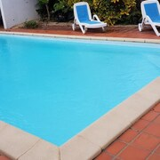 Apartment With one Bedroom in Le François, With Wonderful sea View, Private Pool, Enclosed Garden - 3 km From the Beach