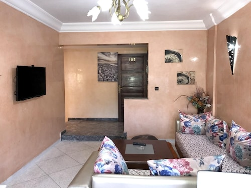 Apartment With 3 Bedrooms in Agadir, With Enclosed Garden and Wifi - 3 km From the Beach