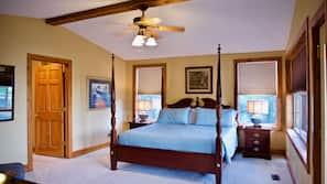 4 多间卧室、熨斗/熨衣板、上网接入、床单