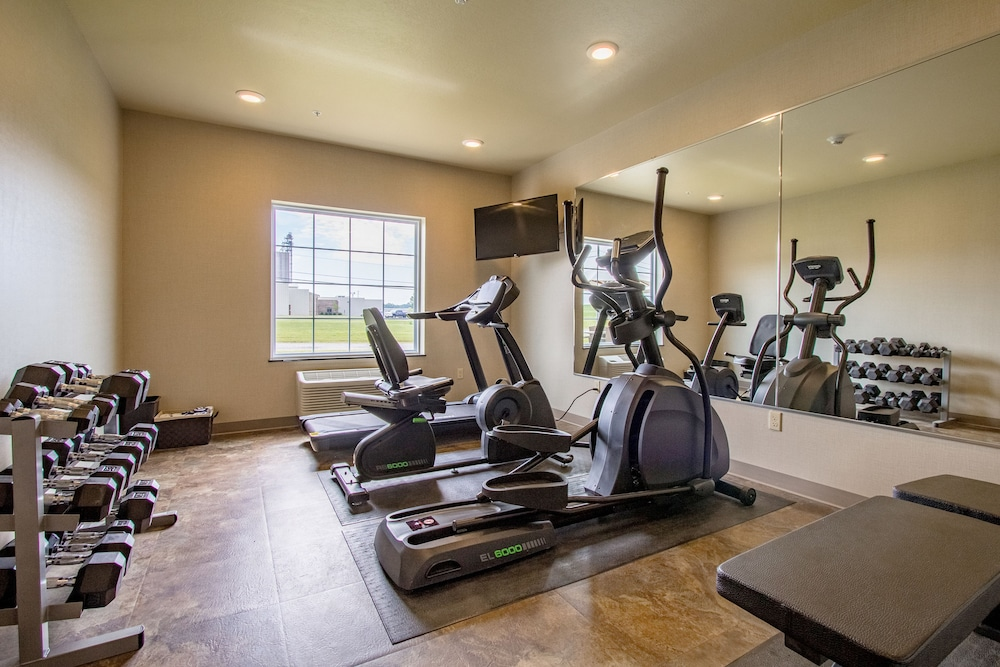 Fitness Facility, Cobblestone Inn & Suites - Kermit