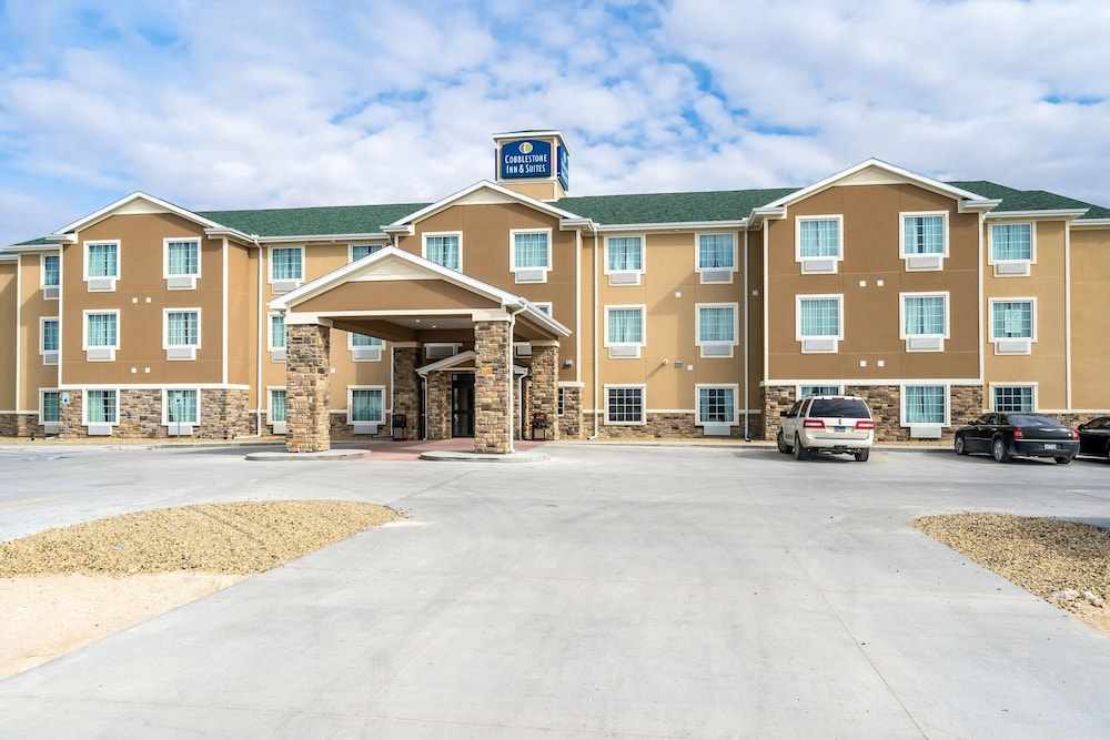 Front of Property, Cobblestone Inn & Suites - Kermit