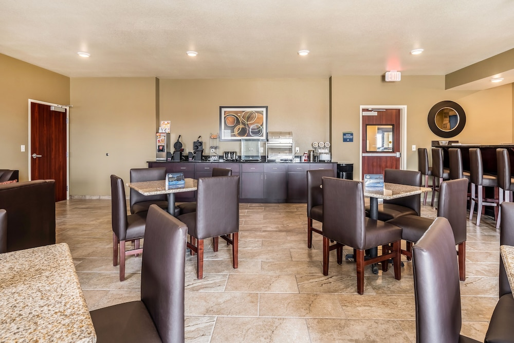 Breakfast Area, Cobblestone Inn & Suites - Kermit