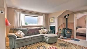 TV de tela plana, DVD player