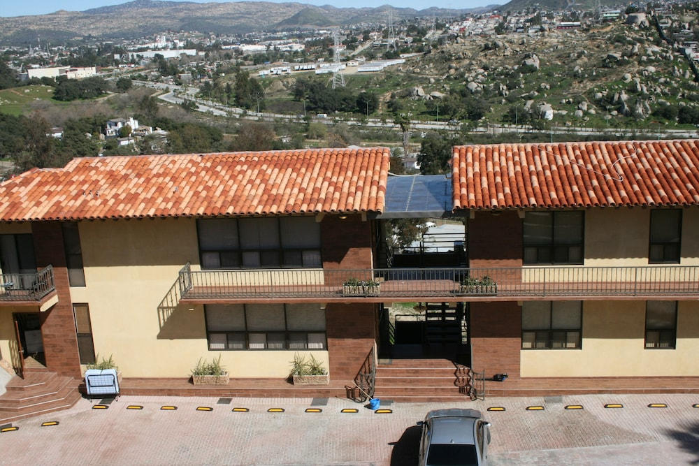 Aerial View, Short Stay Tecate Hotel Boutique