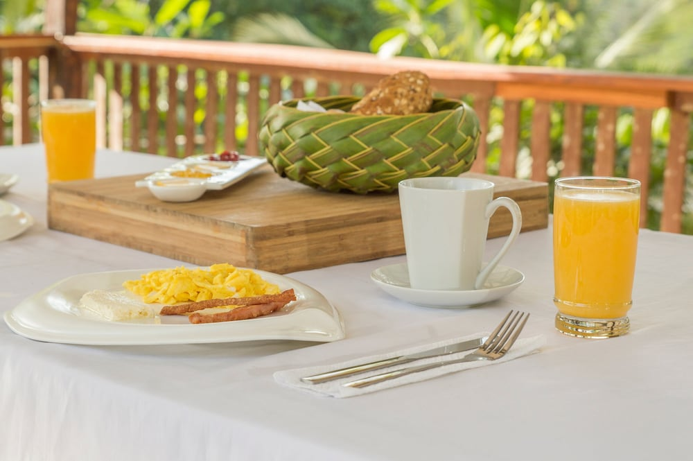 Breakfast Meal, Boca Tapada Lodge