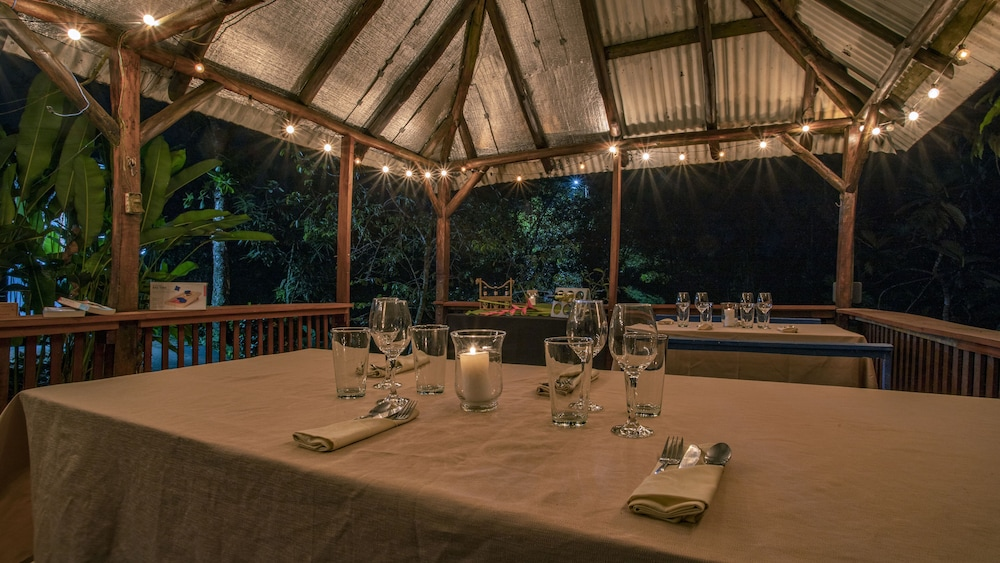 Outdoor Dining, Boca Tapada Lodge