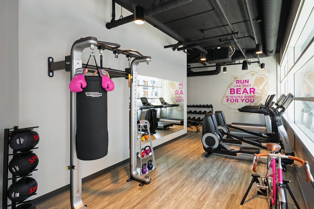 Fitness Facility, Moxy Minneapolis Downtown
