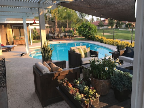 Private Heated Pool, Golf Course, Rancho Bernardo Inn Access out the Back Gate