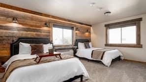 Daunenbettdecken, Zimmersafe, Verdunkelungsvorhänge
