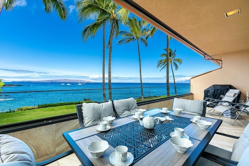 New Listing! Makena Surf F-201-oceanfront Condo With Spectacular Ocean Views!
