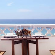 Centrally Located Apartment Right on the Sea, Balcony With Barbecue
