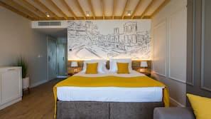 Premium bedding, minibar, individually decorated, laptop workspace