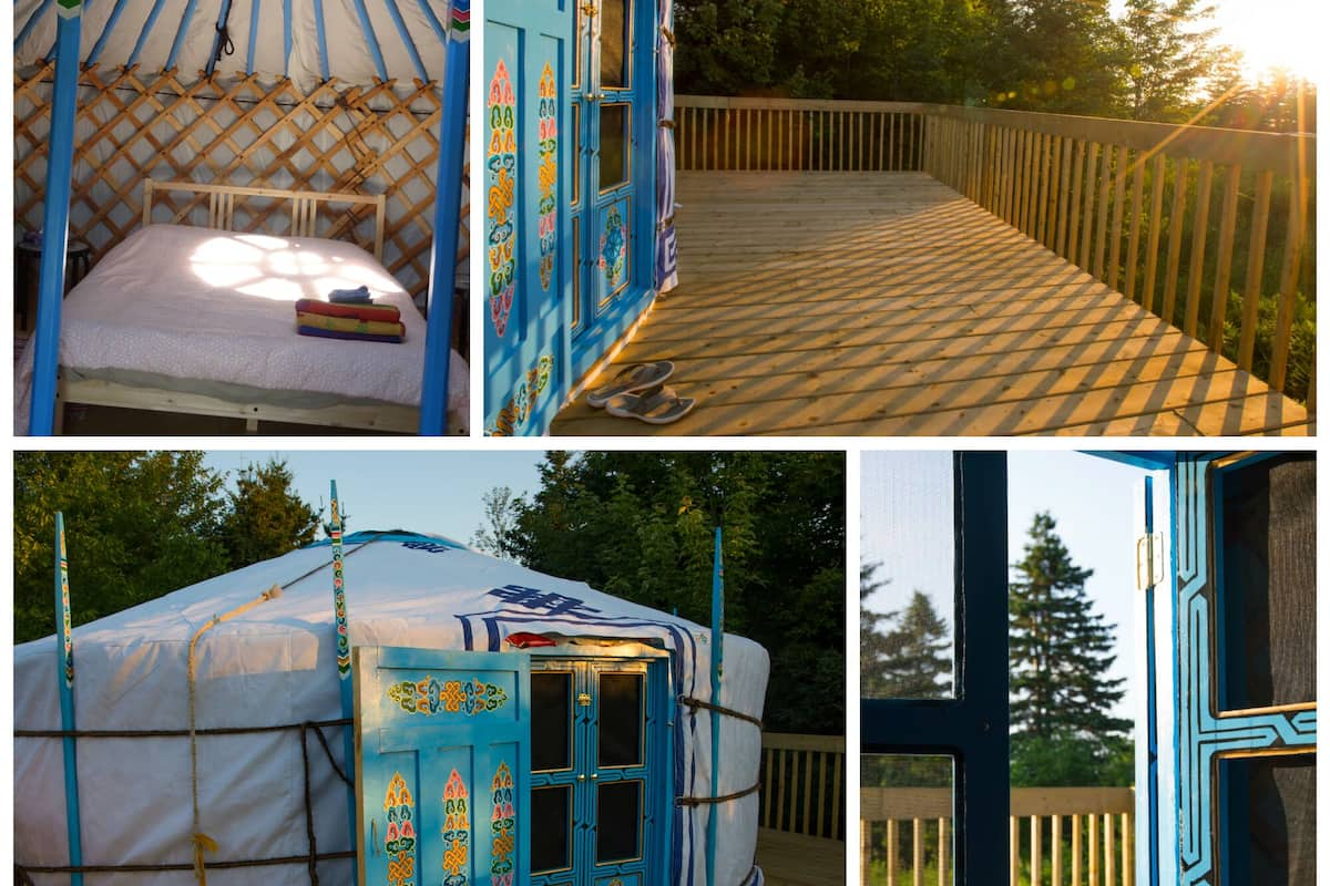 Big Sky Blue Yurt At Cabot Shores Wilderness Resort In Indian Brook Expedia Ask ayyleywilliams a question #yert #askshit #ask. expedia