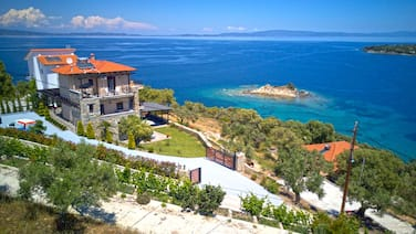 Aeriko Amazing Sea View Villa Galini