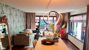 32-Zoll-Flachbildfernseher mit Kabelempfang