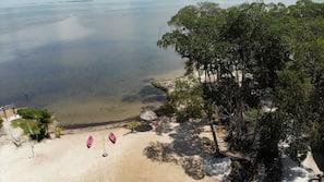전용 해변, 비치 카바나, 일광욕 의자, 비치 타월