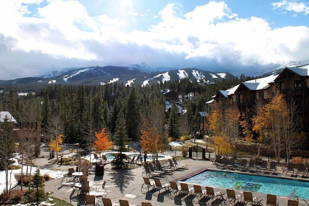 Pool, Grand Timber Lodge, 4.5-star Resort in Breckenridge, CO
