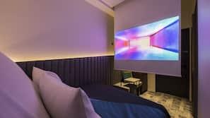 設計每間自成一格、熨斗/熨衫板、免費 Wi-Fi、床單