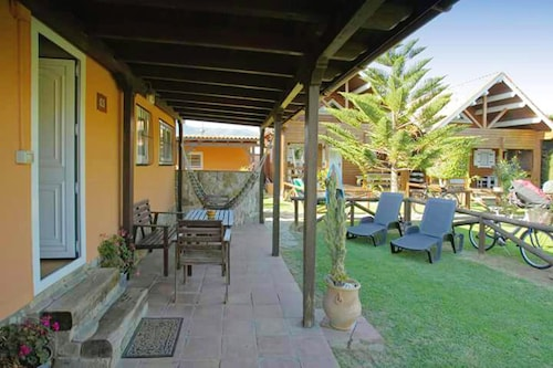 Bungalow With 2 Bedrooms in Tarifa, With Wonderful Mountain View, Enclosed Garden and Wifi - 3 km From the Beach