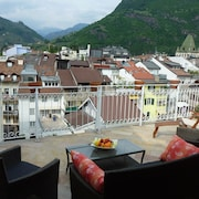 in old town, luxuriously equipped with sunny roof terrace