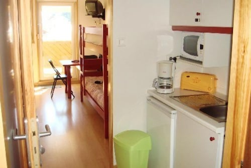 Studio in Gérardmer, With Wonderful Mountain View and Furnished Terrace