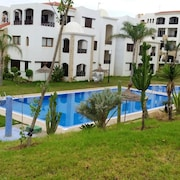 Apartment With 2 Bedrooms in Cabo Negro, With Shared Pool and Enclosed Garden - 5 km From the Beach