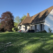 Family House 14 Pers. in a Private Domain of 10 Hectares, 1 Hour From Paris