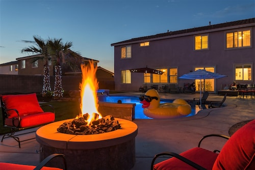 Coachella Splash Pad Four Bedroom House