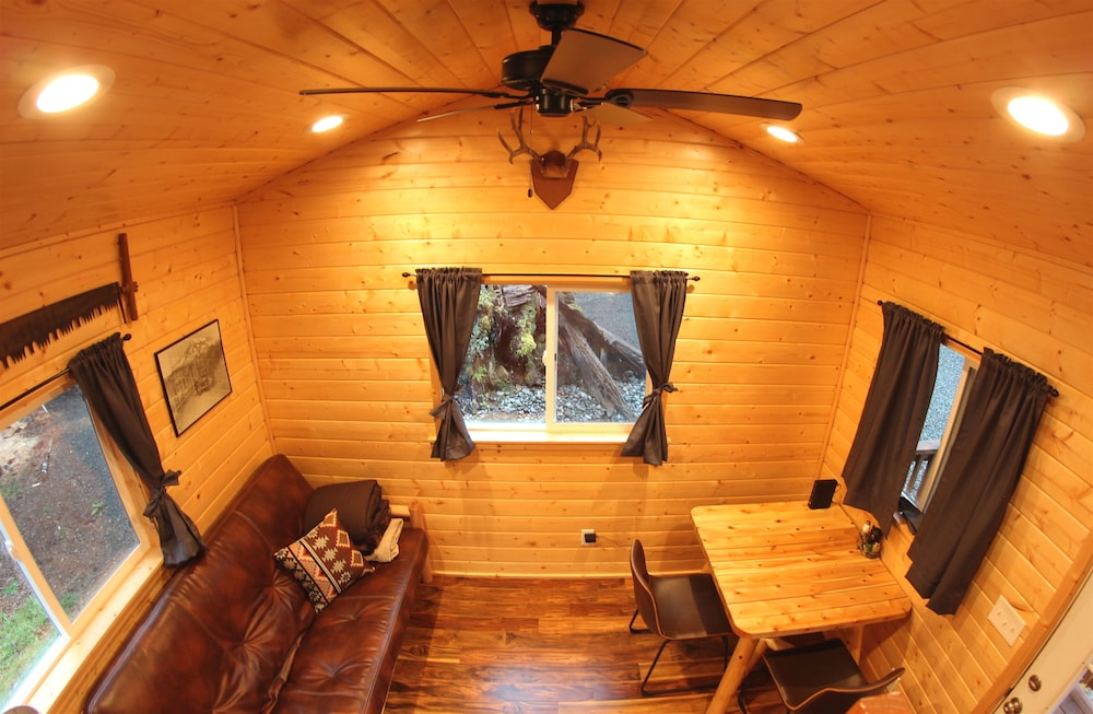 Living Room, A tiny cabin with big adventures!
