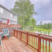 Spacious Townhouse W/easy Access to ski Lodge, Open Kitchen & Pond Views