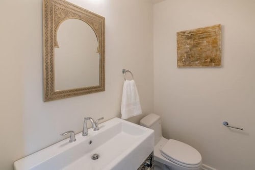 Bathroom, Expansive and Modern Home With Pool and Tennis Court!