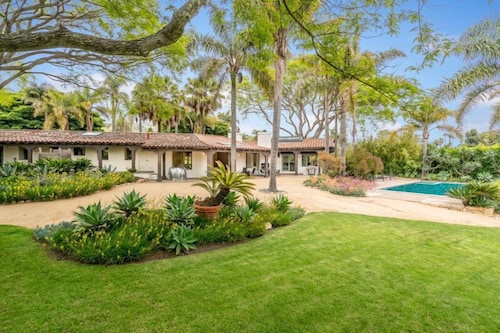 Property Grounds, Expansive and Modern Home With Pool and Tennis Court!