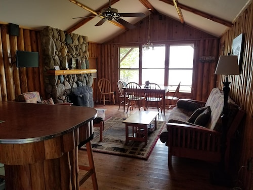 Where Cozy Lakefront Cabins Meet the Stunning Waters of Torch Lake!