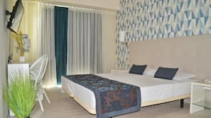 In-room safe, blackout curtains, cots/infant beds, free WiFi