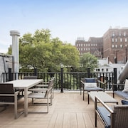 Tons of Light and Private Roof Deck, Modern and Clean