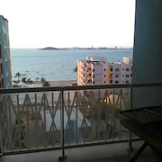 Apartment With 2 Bedrooms in Playa Honda, With Wonderful sea View, Pool Access, Furnished Terrace - 600 m From the Beach