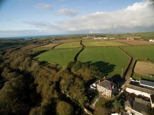 Aerial View, Nanplough Country House and Cottages