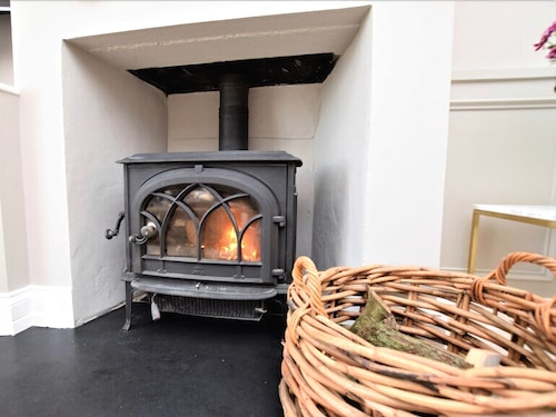 Fireplace, Nanplough Country House and Cottages