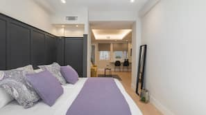 1 bedroom, free cots/infant beds, free WiFi, linens