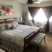 Comfy-cozy-affordable Lovelymaster Br,private Bath,free Parking,24/7ac,car opt
