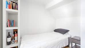 3 makuuhuonetta, ylelliset vuodevaatteet, ilmainen Wi-Fi, vuodevaatteet