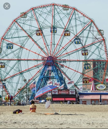 Coney Island New York Dichtbij Manhattan