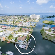 New Listing! Waterfront, Private Dock, Pets OK, Swim Spa, Kayak & Paddle Board