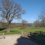 Perfect Tranquility With View of Harewood House and Lake