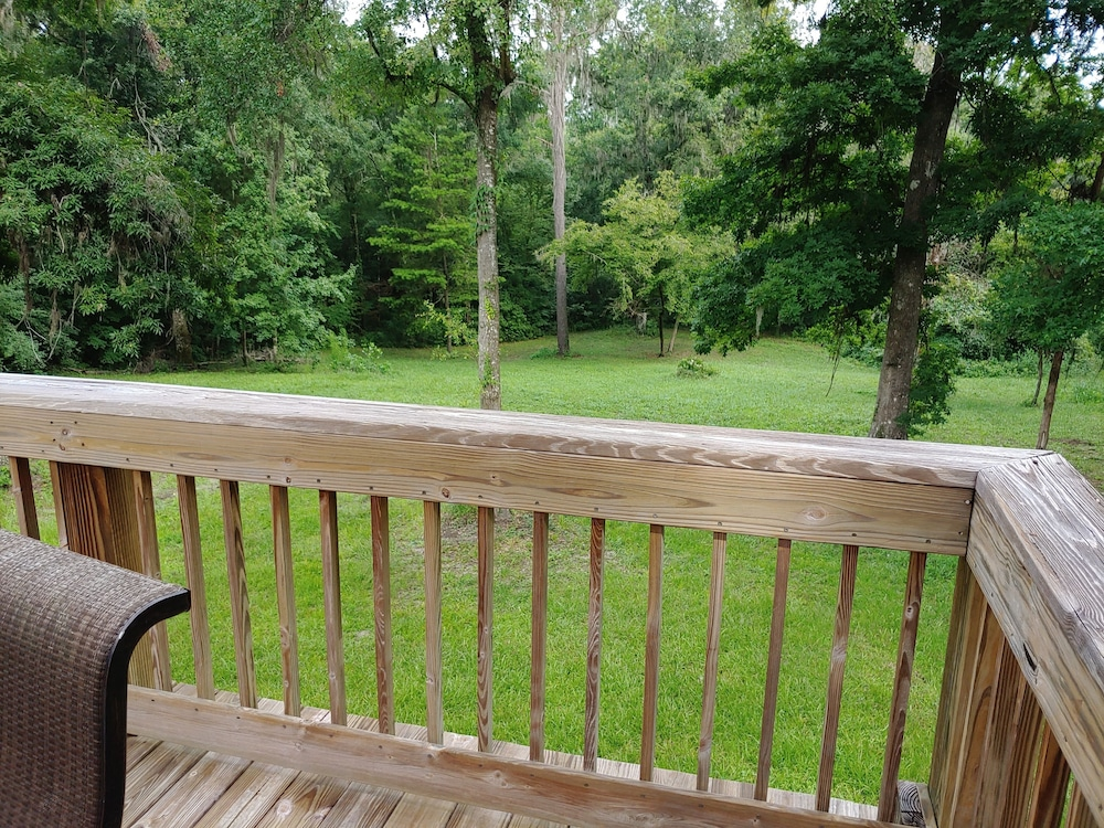 Balcony, Hidden Creek Rental!
