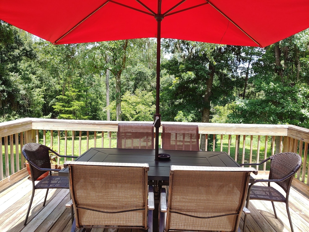 Terrace/Patio, Hidden Creek Rental!
