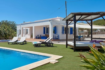 The lovely Villa Ibiza