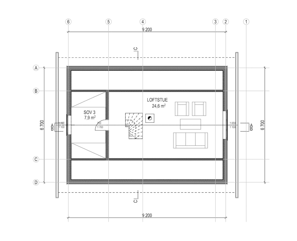 Floor plan, Sjosida 3